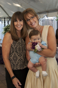 Austin with my mom (left) and my aunt/ mother of the bride (right)