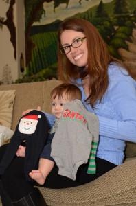 Austin's Christmas jambes