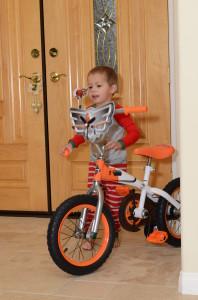 Parker's new bike