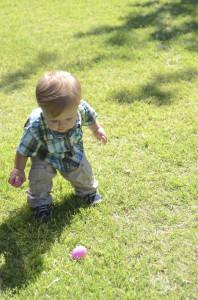 Austin found an egg