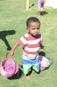 My nephew was double-basketing it :)