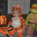 Tigger and Ninja Turtle Michelangelo
