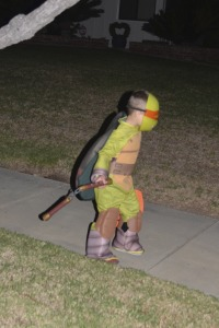 Watch out... there's a Ninja Turtle on the streets!