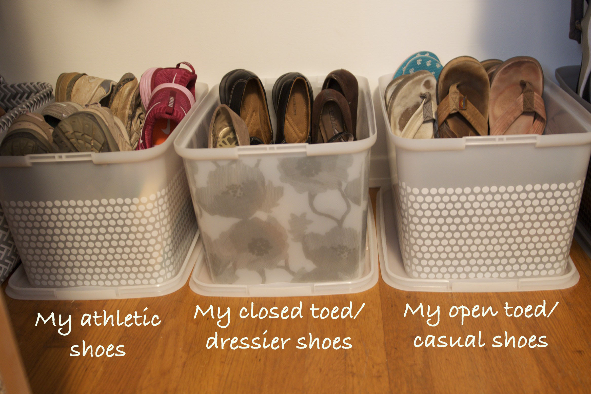 Shoe Organization The Practical Home Series Easy Shoe Organization Little Silly Goose