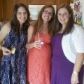 Me with the lovely ladies who threw the shower for me
