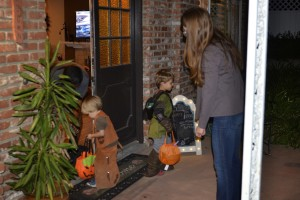 More trick or treating fun