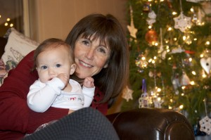 Grandma bonding with her Audrey